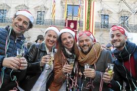 Traditionell findet die Feier auf dem Rathausplatz in Palma statt.