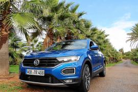 Der VW T-Roc: Stark auf Mallorcas Autobahn