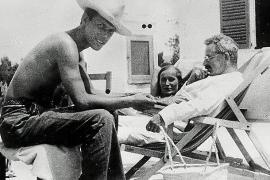 Benjamin (rechts) mit seinem Freund Jean Selz und dessen Ehefrau