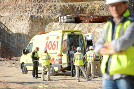 Bauarbeiter in Port d'Andratx verletzt