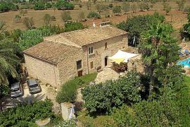 """Die """"Kinderglück""""-Finca befindet sich im Südosten Mallorcas, in der Nähe von Santanyí."""