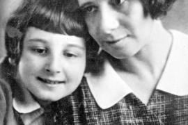 Marte (auch Martha genannt) Brill mit ihrer Tochter Alice.