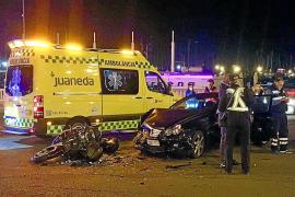 Motorradfahrer stirbt auf dem Paseo Marítimo