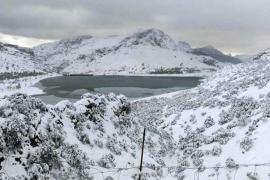 Auf Mallorca schneit es ab 400 Metern