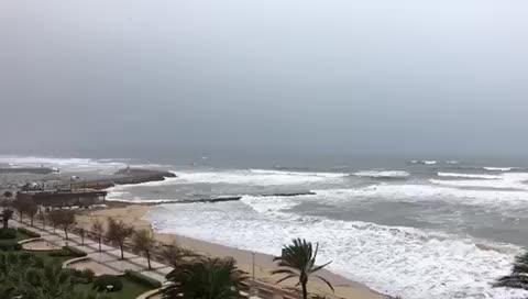 Sturmtief Ana hielt Mallorcas Feuerwehren in Atem