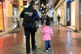 Palmas Polizei als Freund und Helfer