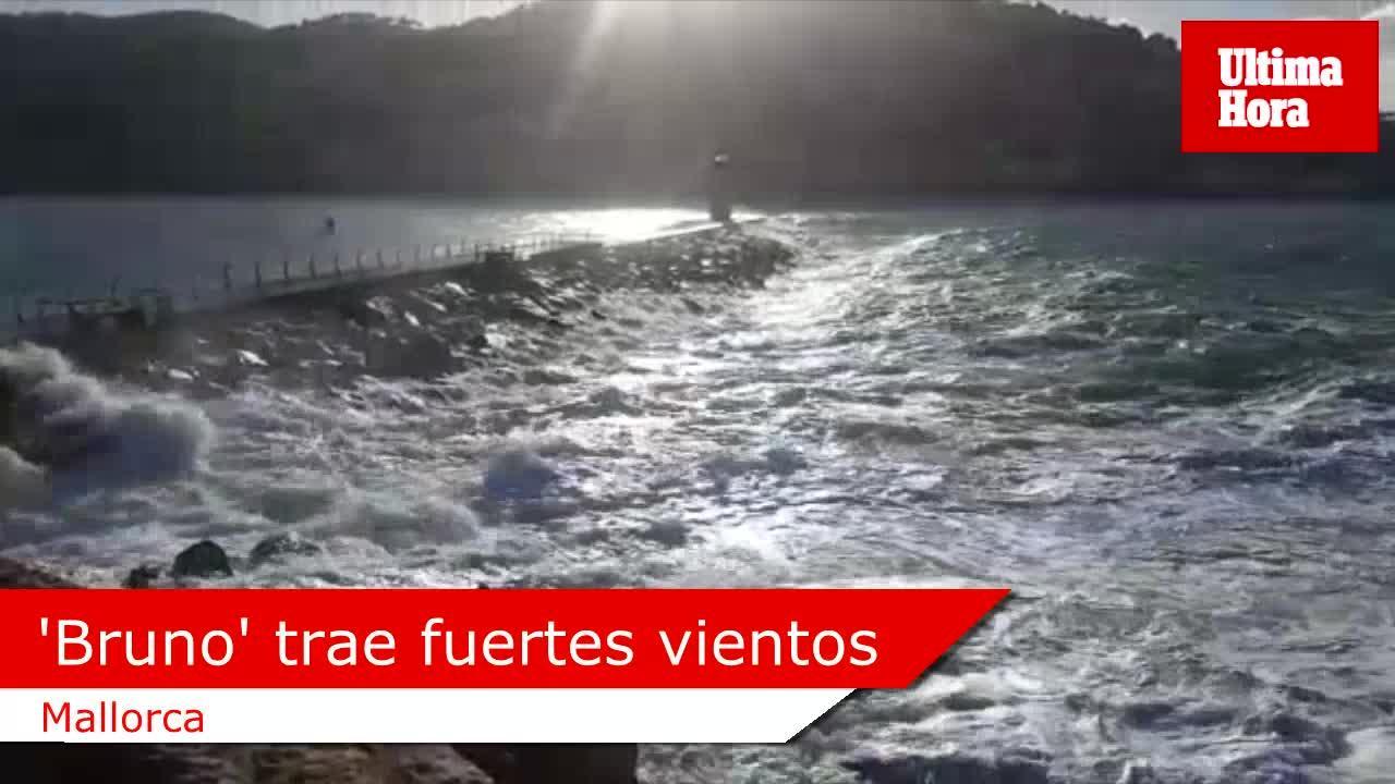Sturmtief Bruno bringt Windböen und hohe Wellen