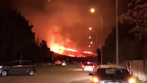 Großbrand bei Port de Pollença