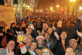 Silvester in Palma: Zwei Partys und mehr Sicherheitskräfte