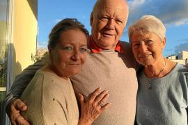 """Verbrachten ihre Kindheit und Jugend auf Mallorca: Ellen Sader, geborene Probst (l.), ihr Stiefbruder Dietrich """"Dieter"""" Brunhube"""