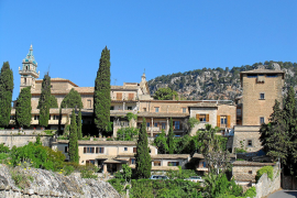 Maßnahmen gegen den Verfall im Kloster von Valldemossa