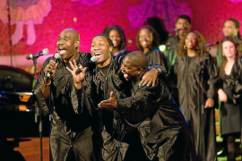 Jede Menge Groove mit dem Alabama Gospel Choir