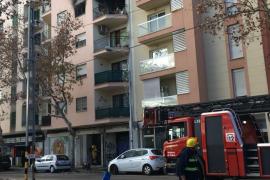Wohnung zweier Seniorinnen brennt in Palma