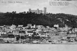 Die Postkarte zeigt das El-Terreno-Viertel vor etwa einem Jahrhundert.
