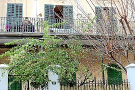 """Die einstige Pension Hiller ist heute ein """"halbiertes"""" Wohnhaus."""