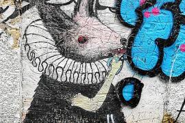Die Graffiti-Galerie des Altstadt-Viertels Canamunt