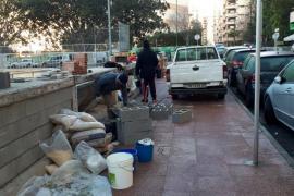 Stadt mauert Schlafplätze der Obdachlosen zu