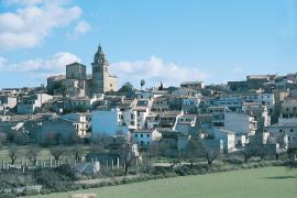 Montuïri liegt im Inselinnern.