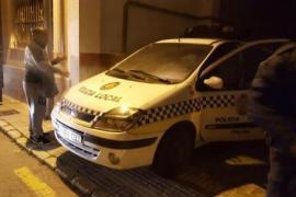 Zwei Polizeiautos havarierten bei Königsumzügen in Palma