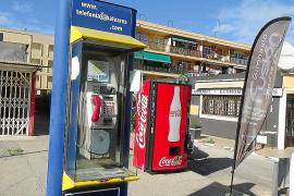 Die Gemeinde Calvià baut 69 Telefonzellen ab