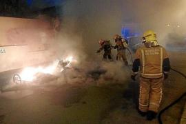 Feuerteufel schlägt in Molinar und Ciudad Jardin zu