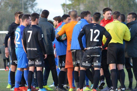 Spielabbruch bei Bochum gegen Atlético Baleares