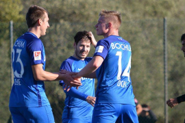 Vier Mal konnten die Bochumer Spieler gegen Atlético jubeln.