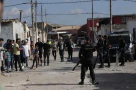 Wieder große Polizeirazzia im Drogenviertel Son Banya