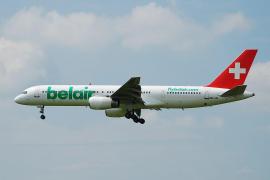 Maschine der Schweizer Air-Berlin-Tochter Belair.