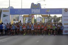 Die Veranstaltung, hier der Start 2017, lockt Jahr für Jahr Tausende Sportler nach Palma.