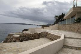 Badeplattformen in Bendinat wieder geebnet
