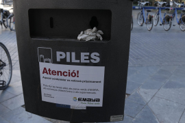 Palma baut Mülleimer für Batterien ab