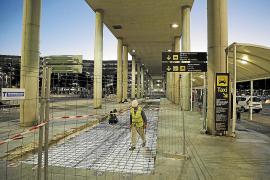 Neue Laufbänder am Flughafen von Palma