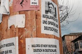 Mallorca ist nicht Deutschland. Es wurden sogar Plakate mit dem Bild Horst Abels aufgehängt.