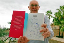 "Udo Lindenberg sagt per Zeichnung ""Ahoi"""