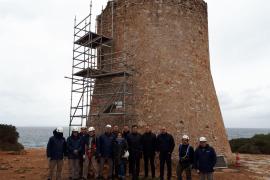 Wachturm von Cala Pi wird vor Verfall gerettet
