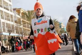 Karnevalsumzug an der Playa de Palma.