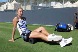 Angelique Kerber hat schon im Jahr 2016 in Santa Ponça trainiert.