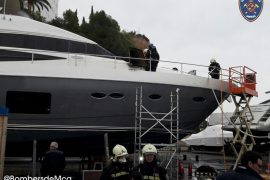 Vier Verletzte bei Yachtbrand in Puerto Portals