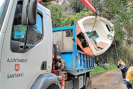 Gemeinde Santanyí entsorgt Flüchtlings-Boote