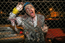 Die Zombies fallen in Capdepera ein