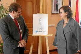 UIB feiert mit Angelhaken von Miquel Barceló