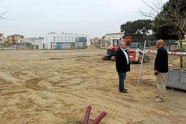 Neue Parkplätze für Strände von Can Picafort