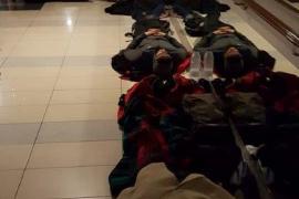 200 Fährpassagiere mussten auf Fußboden schlafen
