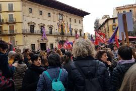 Demonstrationen in Palma anlässlich des Frauentags