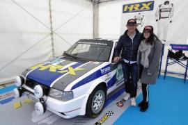 Raúl Abraham und seine Tochter Carolina fahren Fiat Uno Turbo.