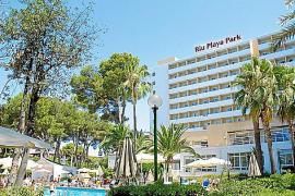 Die Aufnahme zeigt das mittlerweile nicht mehr existierende Riu Playa Park.L PLAYA PARK PARA CONSTRUIR OTRO.