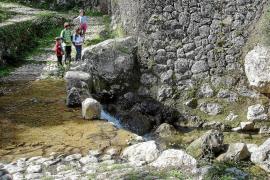 Trockensteinparadies im Barranc de Biniaraix