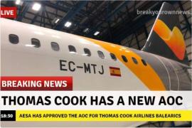 Mallorca-Airline von Thomas Cook startet am Samstag