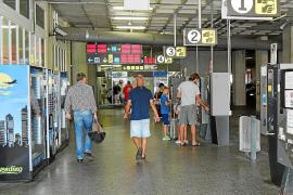 Wasser zum Preis von einem Euro am Flughafen